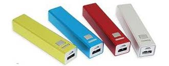 Powerbanks till resan