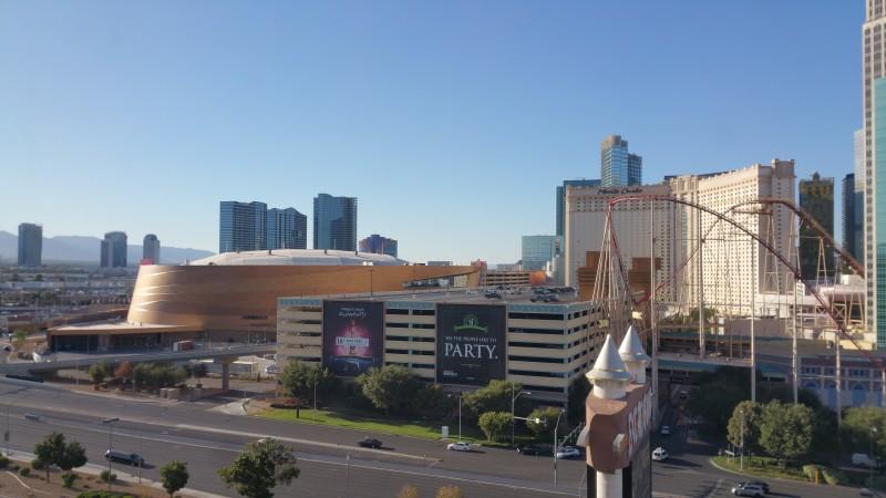 Utsikt från Excalibur Las Vegas