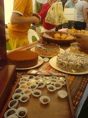 Belgisk choklad på mat- och vinfestivalen i Harare