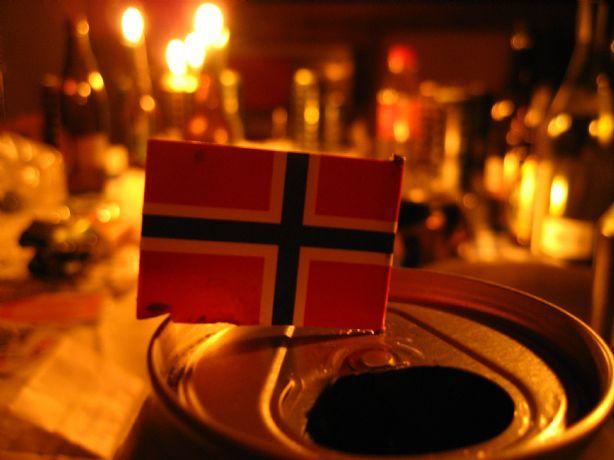 Att jobba i Oslo brukar innebära mycket hårt arbete för en svensk - men också en hel del fest!