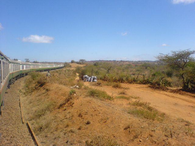 Tåget mellan Nairobi & Mombasa