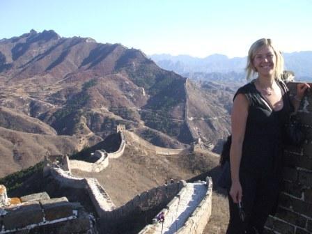 Kinesiska muren är ett av världens sju nya underverk