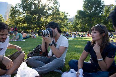 Picknick är en skön aktivitet i Central Park