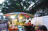 gatustånd i bangkok