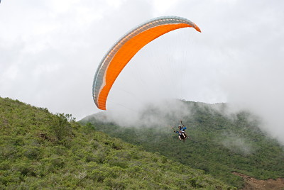 Paragliding i Anderna är en oförglömlig upplevelse