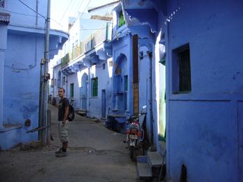 Den blå staden Bundi
